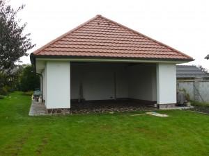 přístavba nové garáže