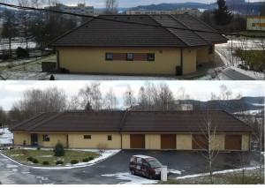 Stavba nízko energetického rodinného domu pro jednu Stavební firmu